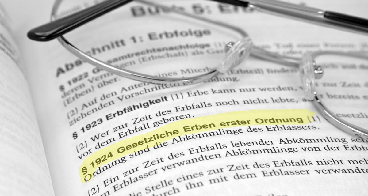 Rechtsanwalt für Erbrecht | Deggendorf - Straubing-Bogen